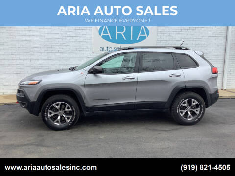 2015 Jeep Cherokee for sale at ARIA  AUTO  SALES in Raleigh NC