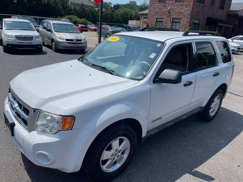 2008 Ford Escape for sale at KINGSTON AUTO SALES in Wakefield RI