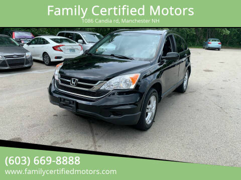 2011 Honda CR-V for sale at Family Certified Motors in Manchester NH