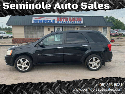 2008 Pontiac Torrent for sale at Seminole Auto Sales in Seminole OK