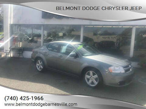 2012 Dodge Avenger for sale at BELMONT DODGE CHRYSLER JEEP in Barnesville OH