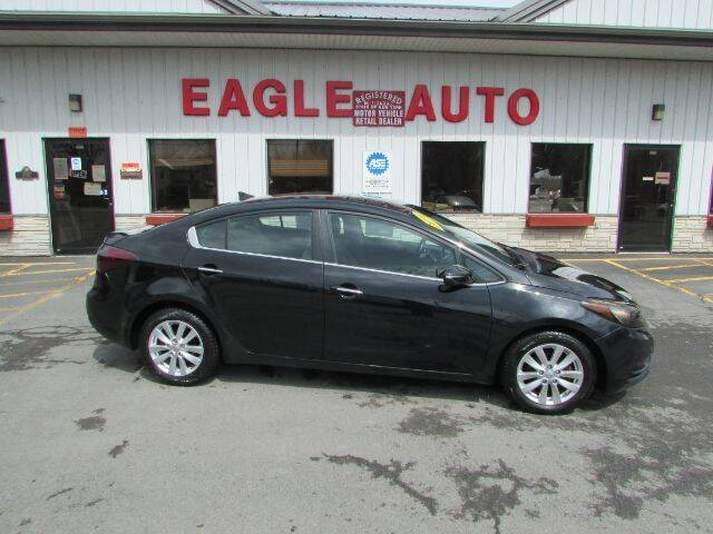 2014 Kia Forte for sale at Eagle Auto Center in Seneca Falls NY