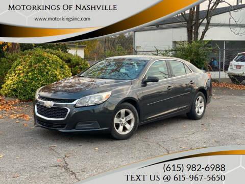 2015 Chevrolet Malibu for sale at Motorkings Of Nashville in Nashville TN