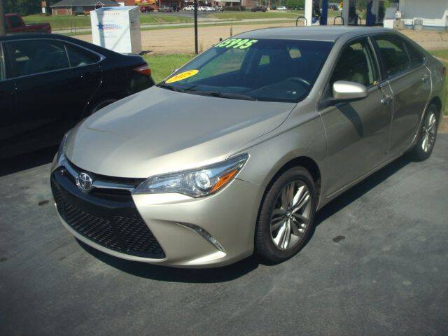 2015 Toyota Camry for sale at Mike Lipscomb Auto Sales in Anniston AL