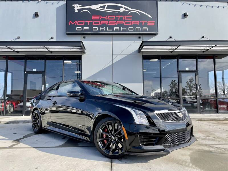 2019 Cadillac ATS-V for sale at Exotic Motorsports of Oklahoma in Edmond OK