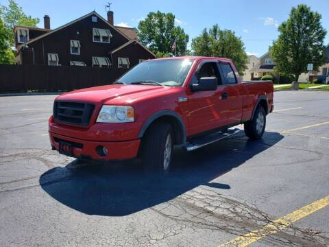 2006 Ford F-150 for sale at USA AUTO WHOLESALE LLC in Cleveland OH