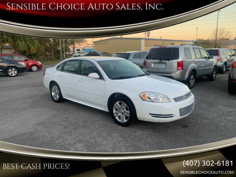2013 Chevrolet Impala for sale at Sensible Choice Auto Sales, Inc. in Longwood FL