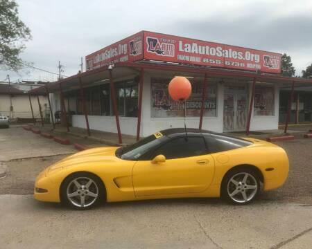 2002 Chevrolet Corvette for sale at LA Auto Sales in Monroe LA