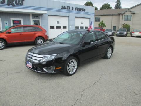 2012 Ford Fusion for sale at Cars R Us Sales & Service llc in Fond Du Lac WI
