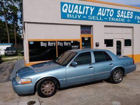 2005 Mercury Grand Marquis for sale at QUALITY AUTO SALES OF FLORIDA in New Port Richey FL