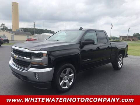 2017 Chevrolet Silverado 1500 for sale at WHITEWATER MOTOR CO in Milan IN