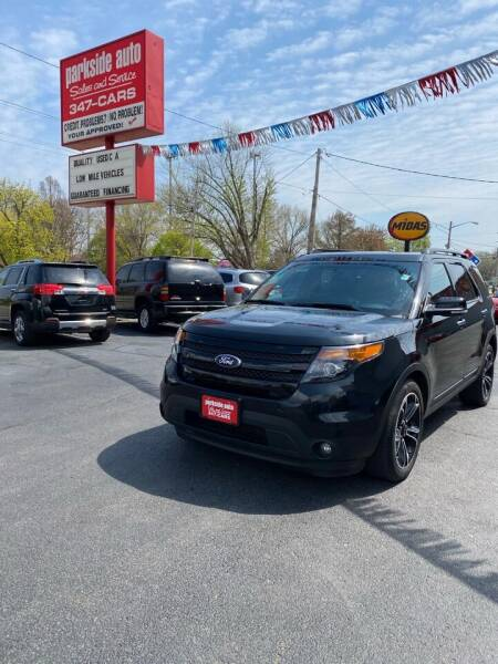 2014 Ford Explorer for sale at Parkside Auto Sales & Service in Pekin IL