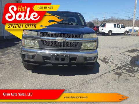 2004 Chevrolet Colorado for sale at Allan Auto Sales, LLC in Fall River MA