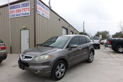 2008 Acura RDX for sale at Universal Credit in Houston TX
