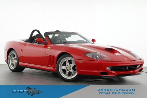 2001 Ferrari MARANELLO BARCHETTA for sale at JumboAutoGroup.com - Carsntoyz.com in Hollywood FL