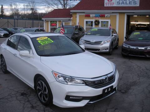2017 Honda Accord for sale at One Stop Auto Sales in North Attleboro MA