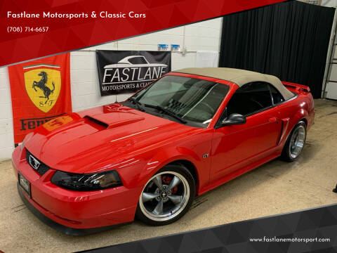 2003 Ford Mustang for sale at Fastlane Motorsports & Classic Cars in Addison IL