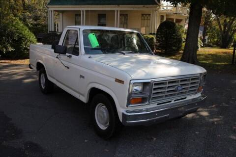 1982 Ford F-100 for sale at FENTON AUTO SALES in Westfield MA