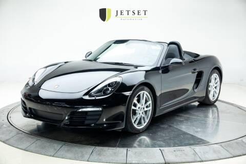2015 Porsche Boxster for sale at Jetset Automotive in Cedar Rapids IA