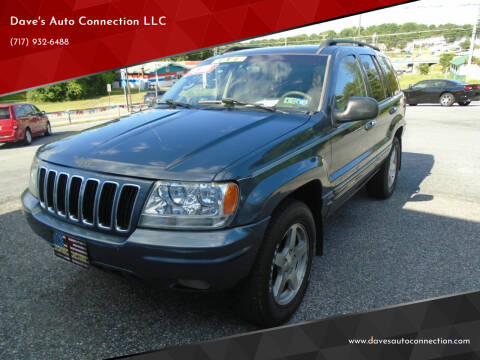 2002 Jeep Grand Cherokee for sale at Dave's Auto Connection LLC in Etters PA