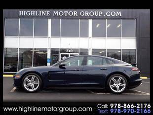 2018 Porsche Panamera for sale at Highline Group Motorsports in Lowell MA