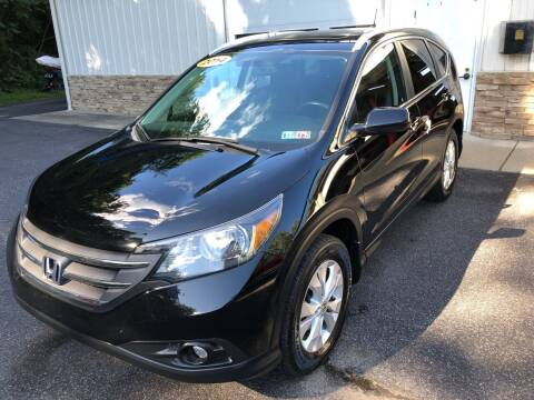 2014 Honda CR-V for sale at WHARTON'S AUTO SVC & USED CARS in Wheeling WV