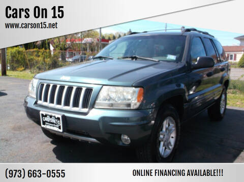 2004 Jeep Grand Cherokee for sale at Cars On 15 in Lake Hopatcong NJ