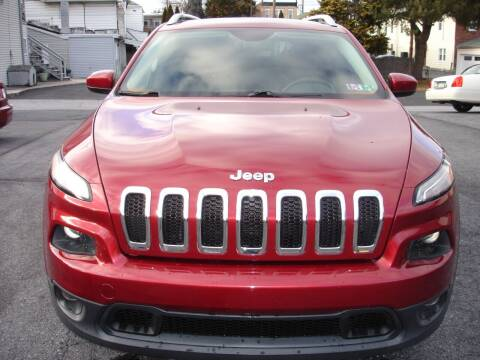 2014 Jeep Cherokee for sale at Pete's Bridge Street Motors in New Cumberland PA