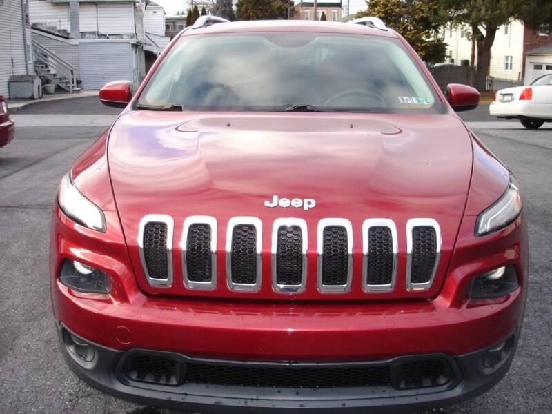 2014 Jeep Cherokee for sale at Pete's Bridge Street Motors in New Cumberland PA