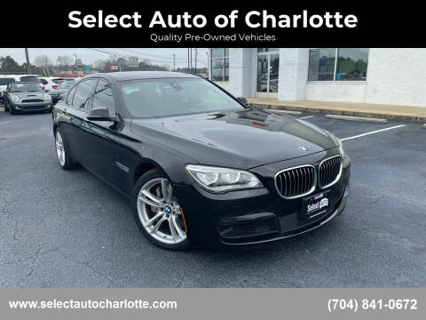 2014 BMW 7 Series for sale at Select Auto of Charlotte in Matthews NC