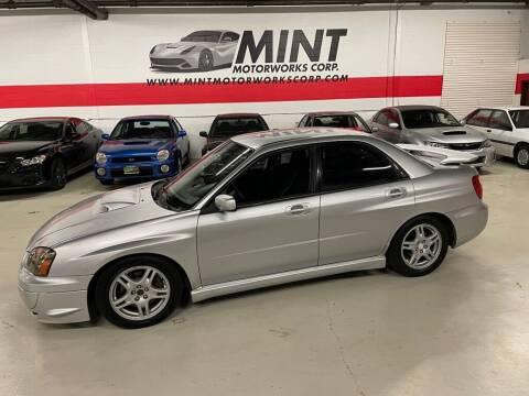 2005 Subaru Impreza for sale at MINT MOTORWORKS in Addison IL
