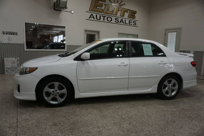 2011 Toyota Corolla for sale at Elite Auto Sales in Ammon ID