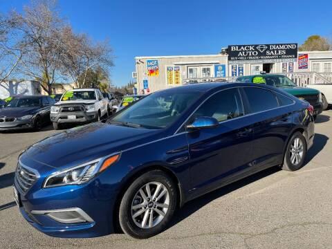 2017 Hyundai Sonata for sale at Black Diamond Auto Sales Inc. in Rancho Cordova CA