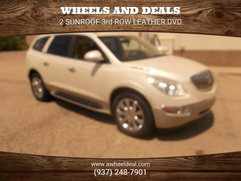 2010 Buick Enclave for sale at Wheels and Deals in New Lebanon OH