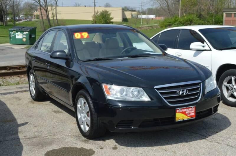 2009 Hyundai Sonata for sale at Performance Motor Cars in Washington Court House OH