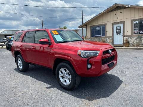 2015 Toyota 4Runner for sale at The Trading Post in San Marcos TX