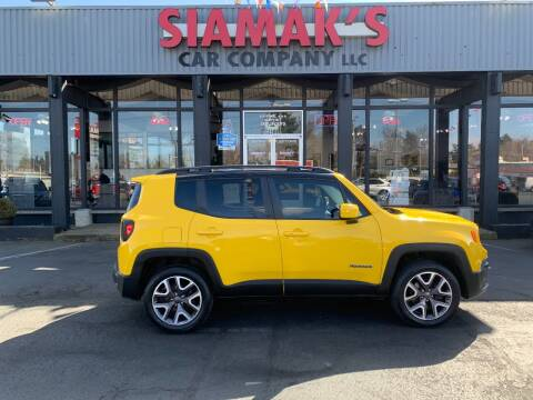 2016 Jeep Renegade for sale at Siamak's Car Company llc in Salem OR