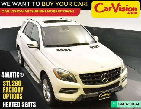 2015 Mercedes-Benz M-Class for sale at Car Vision Mitsubishi Norristown in Norristown PA