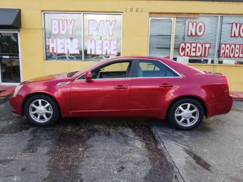 2009 Cadillac CTS for sale at BSS AUTO SALES INC in Eustis FL