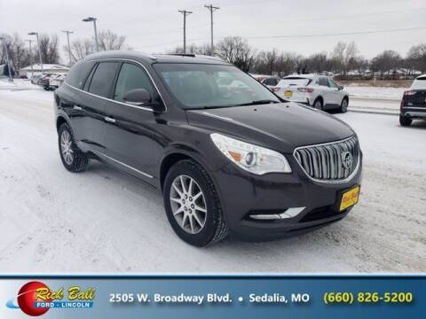 2017 Buick Enclave for sale at RICK BALL FORD in Sedalia MO