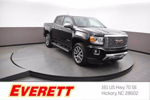 2019 GMC Canyon for sale at Everett Chevrolet Buick GMC in Hickory NC