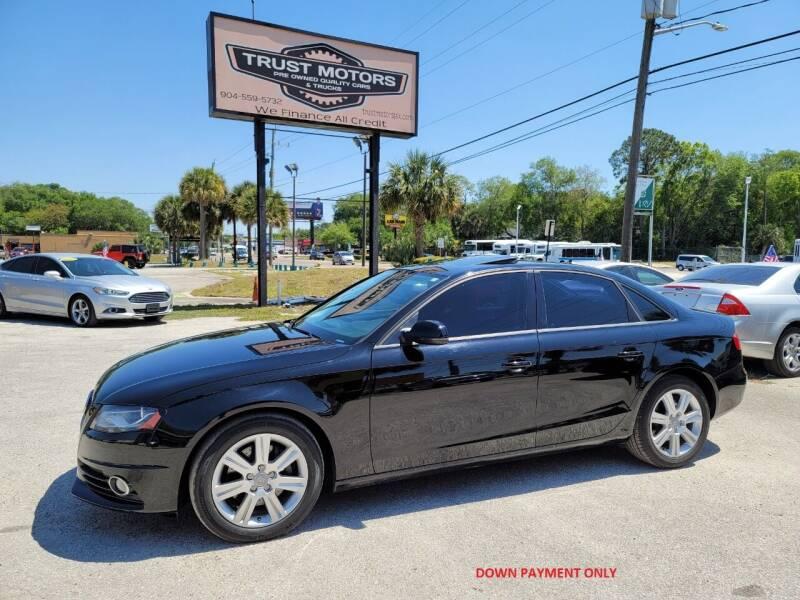 2010 Audi A4 for sale at Trust Motors in Jacksonville FL