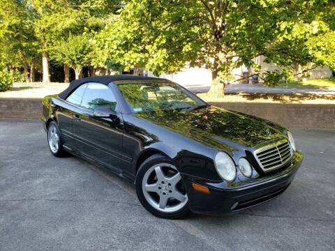 2003 Mercedes-Benz CLK for sale at M & A Motors LLC in Marietta GA