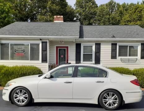 2012 Hyundai Genesis for sale at SIGNATURES AUTOMOTIVE GROUP LLC in Spartanburg SC