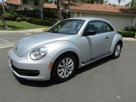 2014 Volkswagen Beetle for sale at E MOTORCARS in Fullerton CA