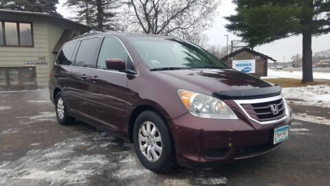 2009 Honda Odyssey for sale at Shores Auto in Lakeland Shores MN