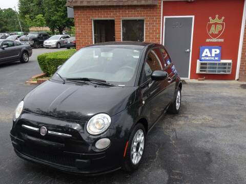 2012 FIAT 500 for sale at AP Automotive in Cary NC