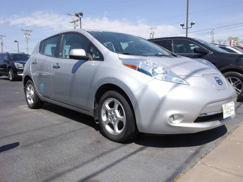 2013 Nissan LEAF for sale at Village Auto Outlet in Milan IL