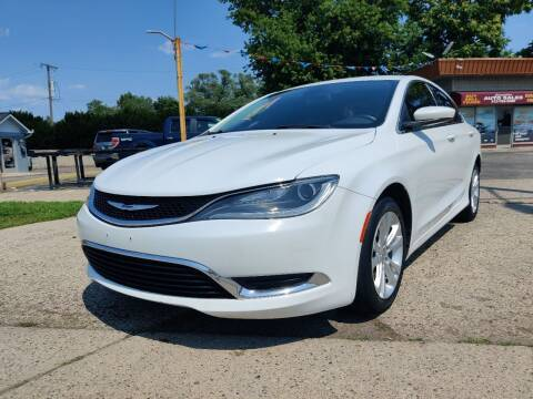 2015 Chrysler 200 for sale at Lamarina Auto Sales in Dearborn Heights MI