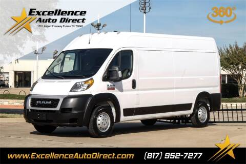 2019 RAM ProMaster Cargo for sale at Excellence Auto Direct in Euless TX